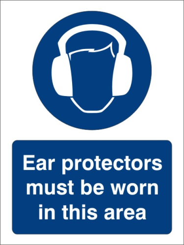 Ear protection 150mm x 200mm