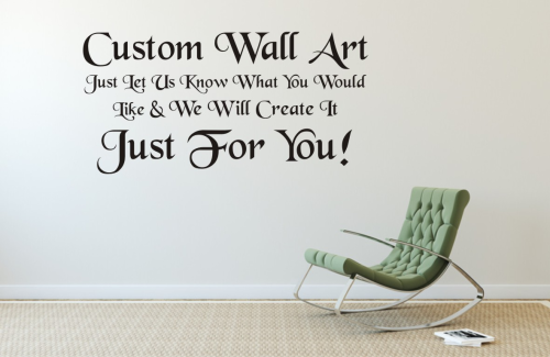 Custom Wall art