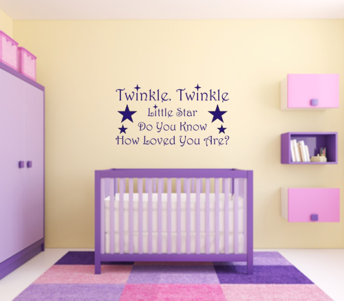 Wall art Twinkle little star